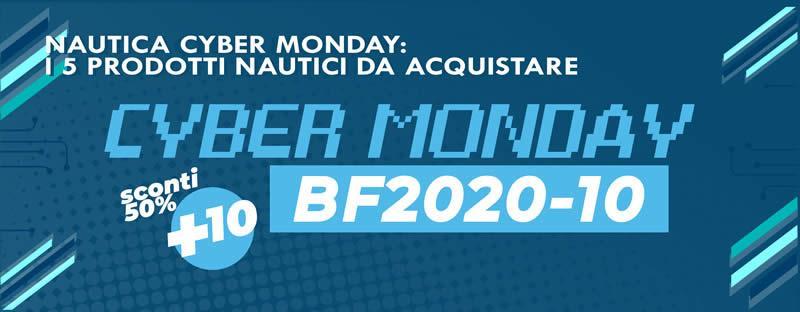 Nautica Cyber Monday 2020: 5 prodotti nautici da acquistare nel Cyber Monday