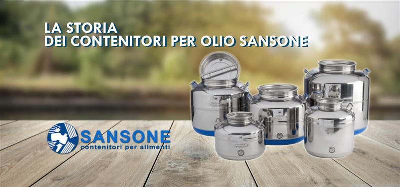 La storia dei contenitori per olio Sansone
