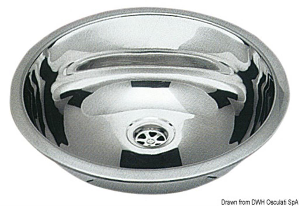 accessori e r Osculati Gancio traino tondo da 35 a 50 cm max 1300 kg