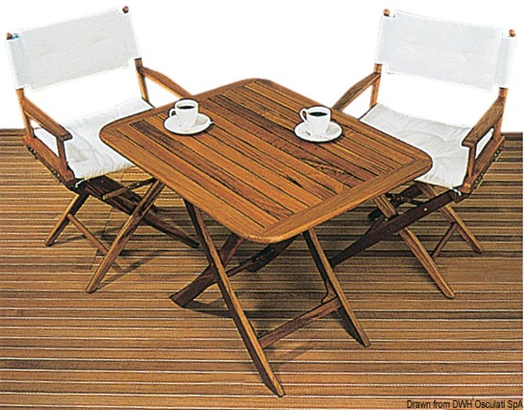 Tavoli Pieghevoli Da Barca.Tavolo In Legno Per Barca O Giardino Regolabile In Altezza