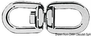 Girella zincata 19 mm [Osculati]