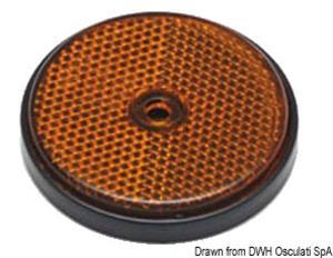 Catarifrangente arancio 60 mm [Osculati]