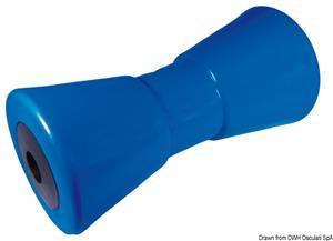 Rullo centrale blu 200 mm Ø foro 21 mm [Osculati]