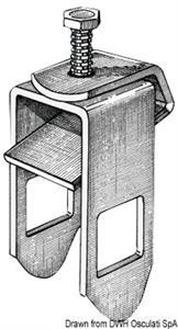 Staffa di fissaggio rullo 30 x 50 mm [Osculati]
