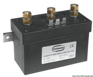 Control box 500 W - 12 V [MZ Electronic]