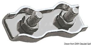Morsetti inox doppi 3 mm [Osculati]
