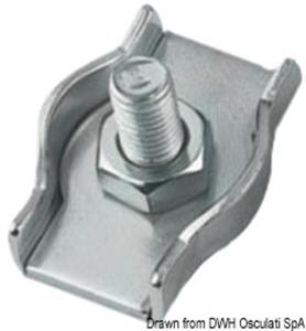 Morsetti inox semplici 2 mm [Osculati]