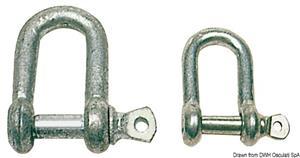 Grilli zincati a D 14 mm [Osculati]
