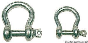 Grilli zincati cetra mm 8 [Osculati]