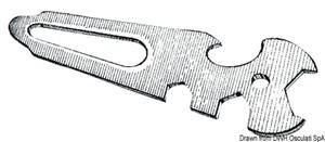 Attrezzo multiuso in acciaio inox AISI 316 [Osculati]