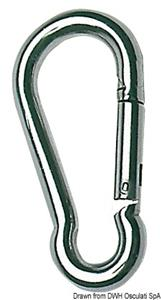 Moschettone inox 10 mm [Osculati]