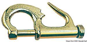 Garroccio ottone mm 75  [OSCULATI]