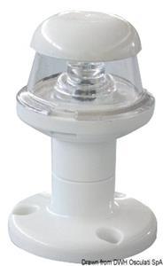 Fanale bianco led 360° [Osculati]