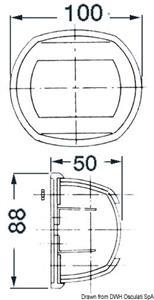 Lampadina LED a siluro 39 mm  [OSCULATI]