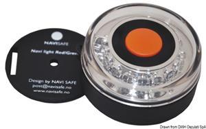Lampada Navisafe 360° tricolore supporto magnetico [Navisafe]