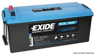 Batteria Exide agm 140 Ah [Exide Technologies]