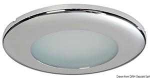 Plafoniera Capella LED lucida [Osculati]