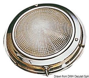 Plafoniera inox 140 mm [Osculati]