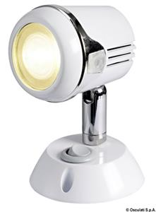 Faretto bianco HI-POWER LED 12/24 V  [OSCULATI]