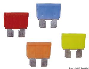 Fusibili lamellari spia LED 5 A [Osculati]