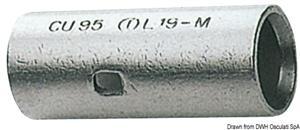 Giunto testa-testa rame 25,5 mm [-]