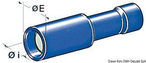 Terminali cilindrici maschio 1-2,5 mm² [Osculati]