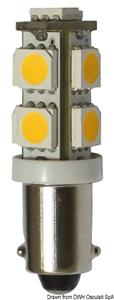 Lampadina 12 V BA9S 8,5 W 95 lm [Osculati]