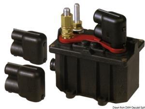 Staccabatteria/teleruttore 12 V [Osculati]