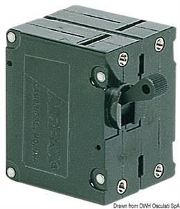 Interruttore Airpax magneto/idraulico 20 A 220 V [Osculati]