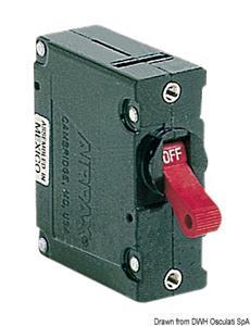Interruttore Airpax magnetoidraulico 20 A [Osculati]