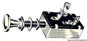 Interruttore 1+1 circuiti 25 A [Osculati]