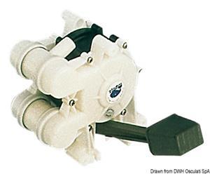 Pompa a pedale Whale GUSHER MK3  [OSCULATI]