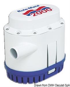 Pompa Rule automatica 129 l/min 12 V [Rule]