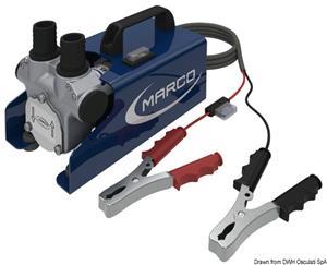 Elettropompa per travaso gasolio/olio 12 V [Marco]