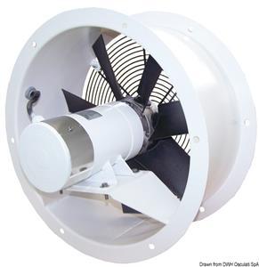 Aspiratore assiale acciaio  24 V 0,15 KW 6 A FA [CEM elettromeccanica]