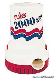 Pompa Rule 2000 12 V 12 A [Rule]