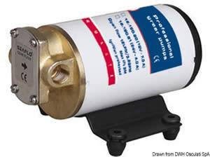 Pompa olio/gasolio/liquidi 24 V [Osculati]