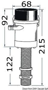 Pompa Rule esterna verticale per pescato [Rule]