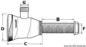Pompa aereazione vasche 52 l/min [Attwood]