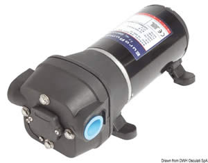Pompa sentina 4 membrane 24 V 17 l [Osculati]