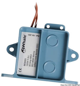 Interruttore WHALE C elettronico automatico per pompe di sentina