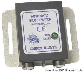Interruttore elettronico automatico per qualsiasi pompa di sentina [MZ Electronic]