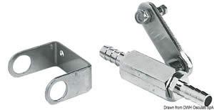 Rubinetto carburante passaggio 8 mm RINA [Osculati]