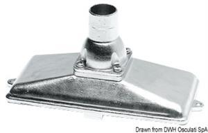 Succhiarola inox Ø 38 mm verticale [Osculati]