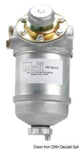 Filtro diesel con pompa a mano  [OSCULATI]