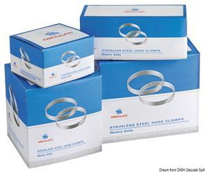 Fascette inox 12 x 40-60 mm [Osculati]