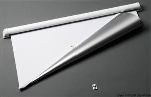 Tendina oscurante bianca 360 x 400 mm [Osculati]
