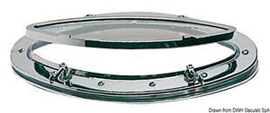 Oblò ellittico ottone cromato 240 x 510 mm [-]