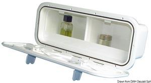 Tasca laterale portaoggetti con divisorio [Osculati]
