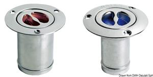 Tappo inox imbarco Water 80 mm [Osculati]